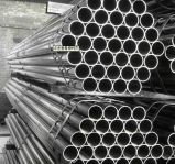 Rayita superficie de acero inoxidable soldada del tubo 304
