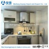 Gabinete de cozinha lustroso elevado do PVC Thermofoil de América