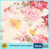 60s Robe imprimée imprimée à rayures roses