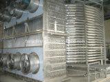 Máquina de congelação rápida espiral do camarão dos peixes do marisco do congelador de IQF