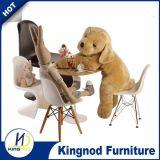 Стул Eames Dsw Dar стула дешевого ABS PP стула деревянной ноги пластичного цветастый обедая для малышей
