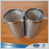 Los tamices de cesta de acero inoxidable 316 para una eficaz eliminación de partículas grandes