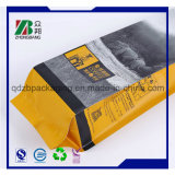 Fabricant OEM Quad Seal Plastic Cat Litter Packaging Bag