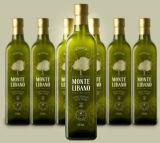 бутылка оливкового масла 500ml стеклянная с деревянной крышкой