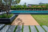 Assoalho ao ar livre projetado alta qualidade de WPC, Decking composto