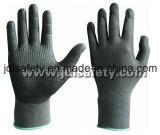 Nylon перчатка работы с Superfine окунать нитрила пены (N1567)