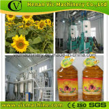 La production de pétrole sunlower complète à partir de graines d'huile de cuisson