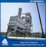 Edificio industrial de la estructura de acero