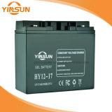 перезаряжаемые свинцовокислотная солнечная батарея 12V17ah для оборудования связи