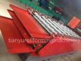 Panneau de toiture en métal roulis de trois couches formant la machine