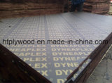 A película barata da madeira compensada do preço enfrentou a madeira compensada da película de Brown da madeira compensada