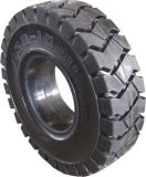 Pneumatic Shaped Solid Tire for Forklift 4.00-8