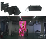 Huasun 새로운 유연한 발광 다이오드 표시 Foldable LED 스크린 P6에 의하여 구부려지는 LED 스크린