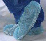 Blanco Desechable antideslizante Scrub Shoe Covers