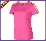 Camiseta bonita de moda para as mulheres (W178)