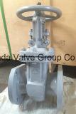 Válvula de porta PN16 da cunha do aço de molde WCB do GOST Z41H-16C