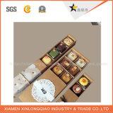 Картон высокого качества изготовленный на заказ бумажный упаковывая восхитительную коробку десерта/печенья упаковывая