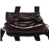 Bolsa do negócio do couro genuíno do homem e saco de ombro (RS-MS028)