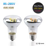 Luz do poder superior da lâmpada 110V 220V do bulbo do filamento do diodo emissor de luz E27