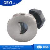 Klep van het Diafragma van de Bodem van de Tank van het roestvrij staal de Sanitaire (dy-DPV105)