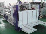 Máquina de colar dobrável de caixa ondulada semiautomática