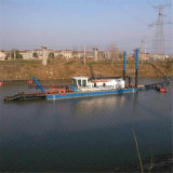 浚渫ポンプを搭載する20インチの川の砂の浚渫機械