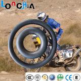 Da motocicleta natural da borracha butílica do alongamento de 550% câmara de ar interna (3.00-12)
