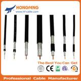 Câble coaxial de liaison de transmission de baisse de 75 séries de l'ohm Rg59