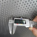 "Feuille perforée en acier inoxydable 24G X 30 3/4 ""X 24"", 1/4 ""Perfs, 5/16 Centres"