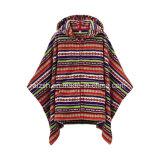 Alta qualità sulla vendita la maggior parte dei vestiti popolari del poncio della coperta del panno morbido
