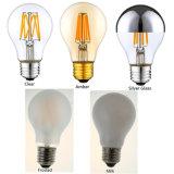 G80 borran/el bulbo ambarino/de plata del filamento del LED