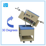 Печь пробки CVD 2 зон роторная для подготовлять материалы катода батареи Li-иона с электропроводящими покрытиями