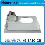 Hotel White Welcome Tray con Big Size