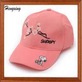 綿の刺繍プリント野球帽