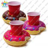 Pool-Gleitbetriebs-aufblasbarer Palme-Flamingo-Regenschirm-Krapfen-Getränk-Halter