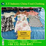 Vêtements utilisés par été de qualité de première classe pour le chemisier de Ladiescotton