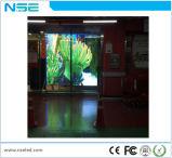 Visualización de LED transparente modificada para requisitos particulares publicitaria de interior del vidrio de la talla de P16mm