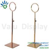 Relation étroite en métal de Promotiom de centre commercial et présentoir de table utilisés d'écharpe