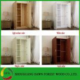 普及したデザインホーム家具3か5 Doors 木のワードローブ