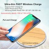 Модель со сверхплоским корпусом 7,5 металлические Wireless быстрое зарядное устройство Amazon/Ebay/пожелает коллектора/реселлер хотели
