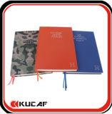 Geschikt om gedrukt te worden Notitieboekje kcn-0011 van de Dekking van de Doek van het Notitieboekje van de Dekking van de Stof A5