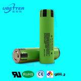 batteria di ione di litio di 3.7V 3200mAh NCR18650