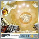 床タイルのためのカスタマイズされた大理石の円形浮彫りの円形か正方形デザインパターン