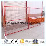 Frontière de sécurité provisoire soudée par garantie de Chine