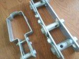 Spanner van de Kabel van de Hardware van het Anker van de Kraag van het Type van U van de Draad van de Bescherming van de hagel de Tedere Enige