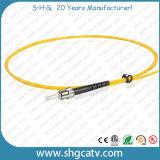 Шнур заплаты однорежимного волокна St симплекса оптически (ST/UPC-ST/UPC)