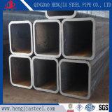 Templado negro de carbono del tubo de acero cuadrado