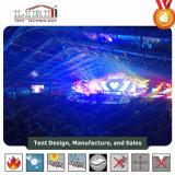 20X30m de Transparante die Tent van 500 Mensen met Verlichting voor Nachtclub wordt gebruikt