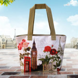 Vente en gros Custom Digital Printing Canvas Beach Bags