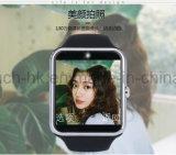 Montre-bracelet intelligente de sport d'écran tactile de Bluetooth avec l'appareil-photo et le G-Détecteur